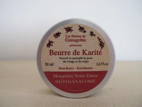 BURRO DI KARITE' DEL MONASTERO FRANCESE DI GANAGOBIE-50 ML